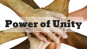 The Power of Unity Dr. Bob Vineyard Greenway Fellowship