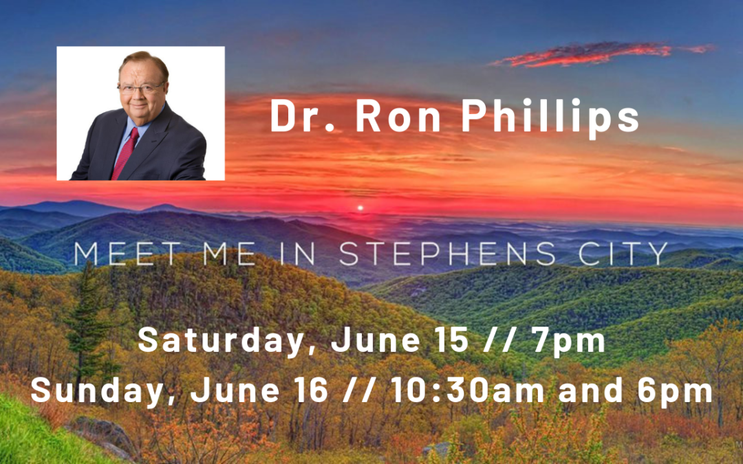 Special Guest – Dr. Ron Phillips