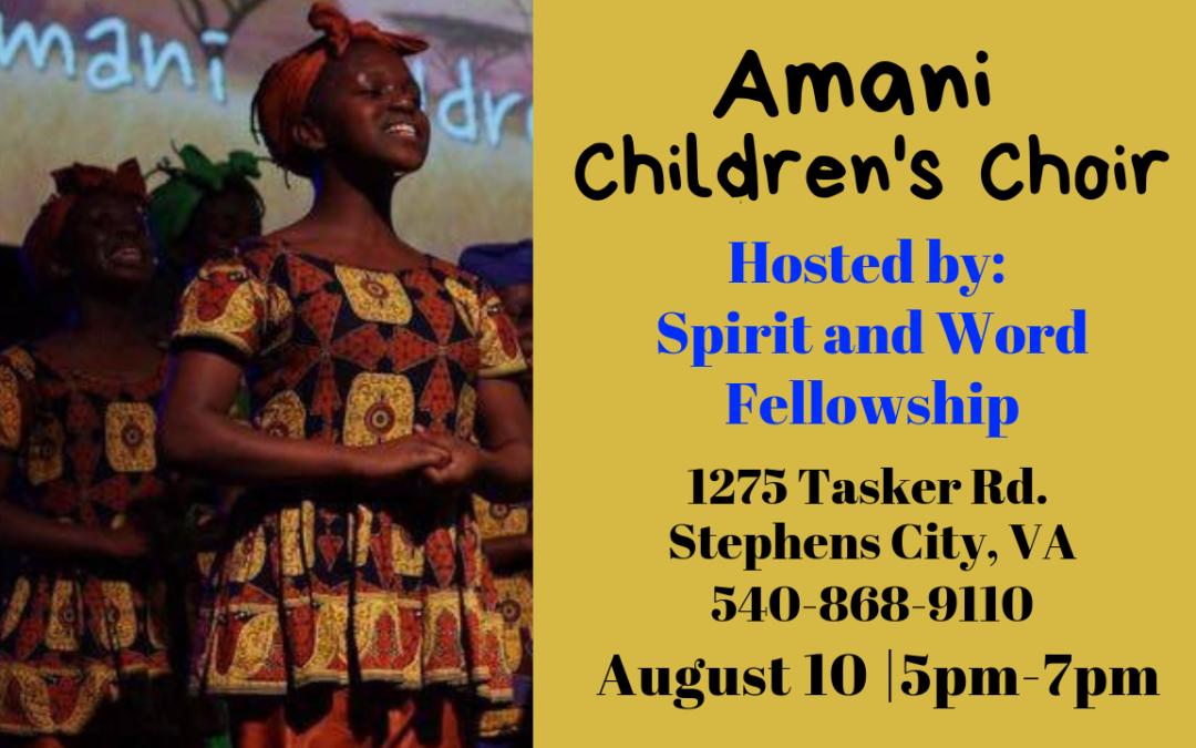 Amani Children's Choir