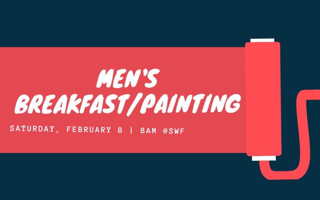 Men's Breakfast Paint Day