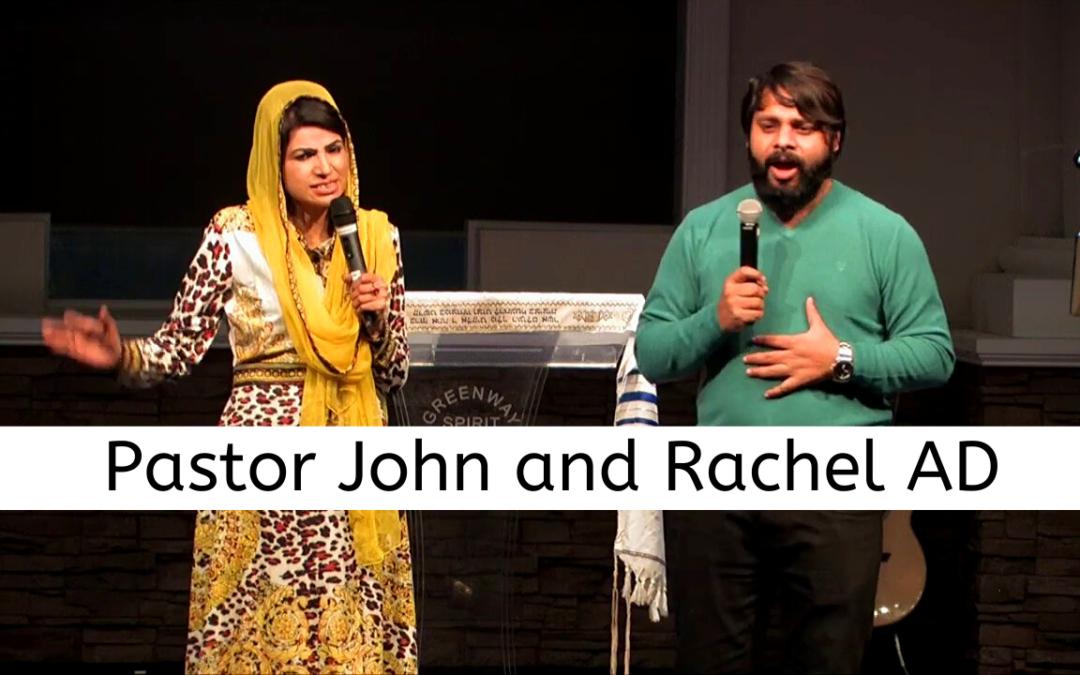Pastor John and Rachel AD – 1/29/20